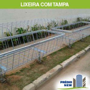 Lixeira de Calçada com Tampa