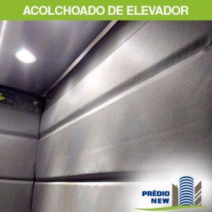 Acolchoado para proteção de elevador